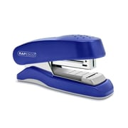 Rapesco® Flat Clinch Half Strip Desktop Stapler, 6 mm, Blue (1143)