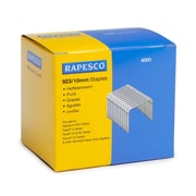 Rapesco® 23 Type Galvanized Staples for 923 Type Heavy Duty Stapling Machine, 10 mm, Silver (S92310Z3)