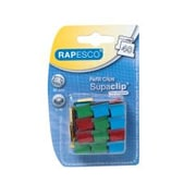 Rapesco® Supaclip® Metal Assorted Refill Clips, 200 mm x 80 mm x 125 mm, 40 Sheet Capacity (RC4050MC)