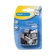 Rapesco® Supaclip® Stainless Steel Refill Clips, 200 mm x 80 mm x 125 mm, 40 Sheet Capacity, 50/Pack (RC4050SS)