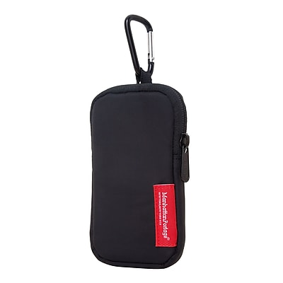 Manhattan Portage Nylon Cell Phone Case Medium Black (1002-NW-C BLK)