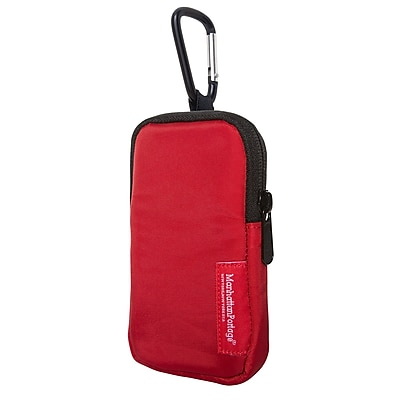 Manhattan Portage Nylon Cell Phone Case (1002-NW-C-L RED)