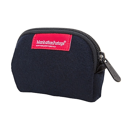 Manhattan Portage Woolrich Coin Purse Navy (1008-WLR NVY)