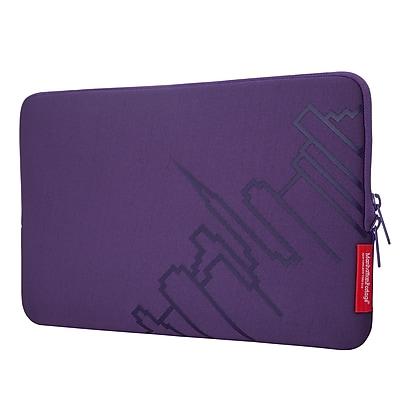 "Manhattan Portage Macbook Air Skyline Sleeve 11"" Purple (1051 PRP)"