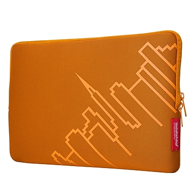 """Manhattan Portage Macbook Air Skyline Sleeve 13"""" Orange (1052 ORG)"""