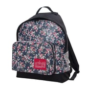 Manhattan Portage Floral Print Big Apple Backpack Sp Medium Black (1209-FLORAL BLK)