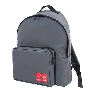 Manhattan Portage Big Apple Backpack Large with Binding Grey (1211-BD GRY)