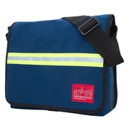 Manhattan Portage Reflective Dj Bag Medium Navy (1420 NVY)