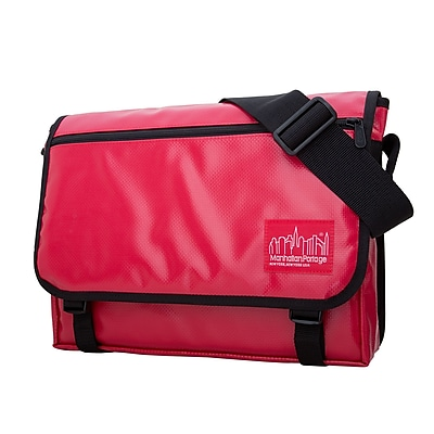 Manhattan Portage Vinyl Europa Medium Red (1434-VL RED)