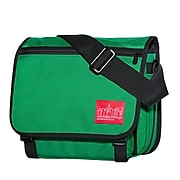 Manhattan Portage Europa Small with Back Zipper And Compartments Green (1435Z-C GRN)