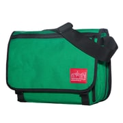 Manhattan Portage Europa Medium with Back Zipper And Compartments Green (1439Z-C GRN)