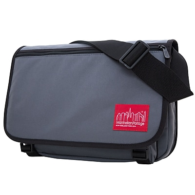 Manhattan Portage Europa Medium with Back Zipper And Compartments Grey (1439Z-C GRY)