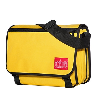 Manhattan Portage Europa Medium with Back Zipper And Compartments Mustard (1439Z-C MUS)