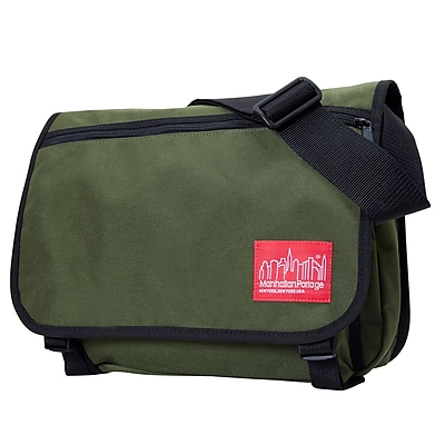 Manhattan Portage Europa Medium with Back Zipper And Compartments Olive (1439Z-C OLV)