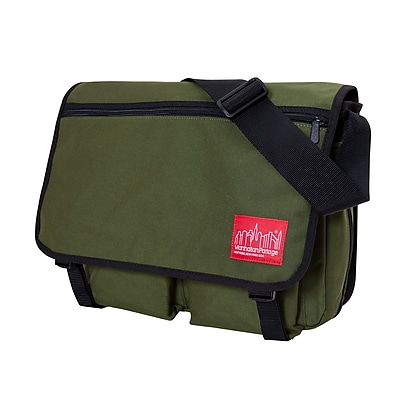 Manhattan Portage Europa Deluxe Large with Back Zipper Olive (1440Z OLV)