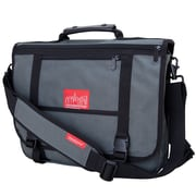 Manhattan Portage Wallstreeter with Back Zipper Grey (1444Z GRY)