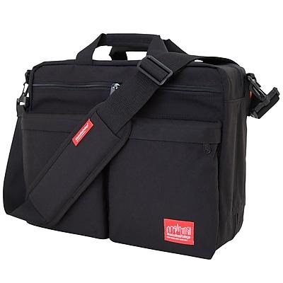 Manhattan Portage Tribeca Bag with Back Zipper Black (1446Z BLK)
