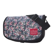 Manhattan Portage Floral Print Sohobo Bag Small Black (1503-FLORAL BLK)