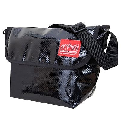 Manhattan Portage Vinyl Messenger Bag (1603-VL BLK)
