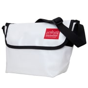 Manhattan Portage Vinyl Messenger Bag (1603-VL WHT)