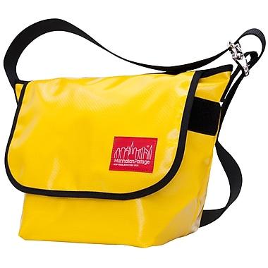 Manhattan Portage Vinyl Vintage Messenger Bag Small Yellow (1605V-VL YEL)