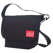 Manhattan Portage Vintage Messenger Bag Medium Black (1606V BLK)