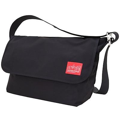 Manhattan Portage Vintage Messenger Bag Large Black (1607V BLK)