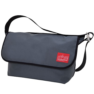 Manhattan Portage Vintage Messenger Bag Large Grey (1607V GRY)