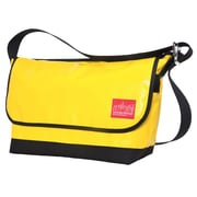 Manhattan Portage Vinyl Vintage Messenger Bag Large Ver2 Yellow (1607V-VL-2 YEL)