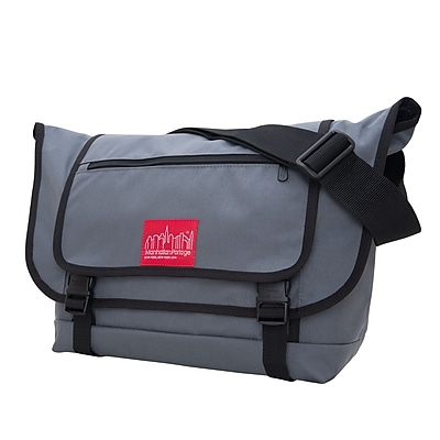 Manhattan Portage Willoughby Messenger Bag Grey (1637-2 GRY)