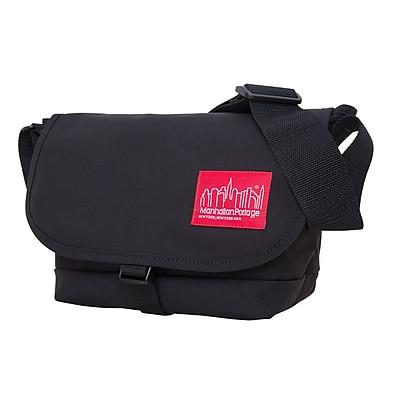 Manhattan Portage Straphanger Messenger Bag Small Black (1645 BLK)