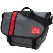 Manhattan Portage Dana'S Messenger Bag Medium Grey/ Red (1690 GRY/RED)