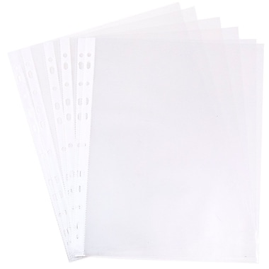 JAM Paper® Plastic Sheet Protector, Clear, 10/pack (3236518865)