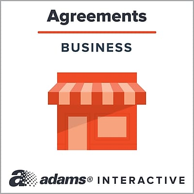 Adams® Commercial Promissory Note, 1-Use Interactive Digital Legal Form