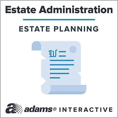 Adams® Notice to Creditors of Death, 1-Use Interactive Digital Legal Form
