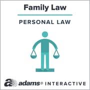 Adams® Parenting Plan, 1-Use Interactive Digital Legal Form