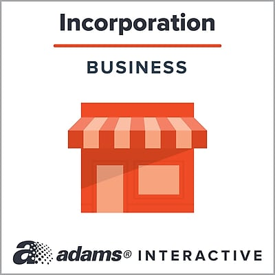 Adams® Corporate Bylaws, 1-Use Interactive Digital Legal Form