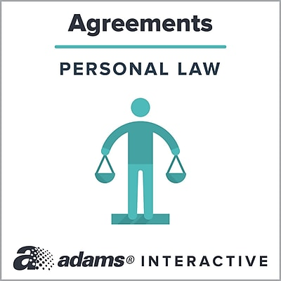 Adams® Housekeeping Services Agreement, 1-Use Interactive Digital Legal Form