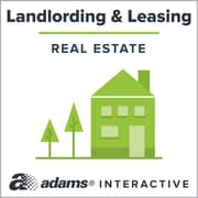 Adams Personal Property Rental Agreement; 1-User, Web Downloaded (DLF555-SL)