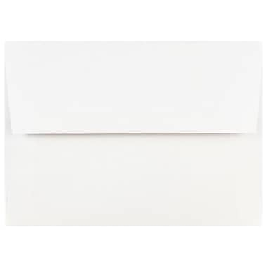 JAM Paper® A7 Invitation Envelopes, 5.25 x 7.25, White, 100/Pack