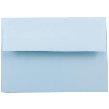 JAM Paper® A6 Invitation Envelopes, 4.75 x 6.5, Baby Blue, 25/pack (155626)