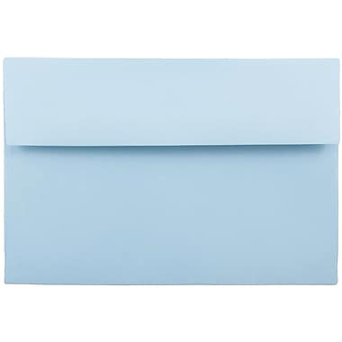 JAM Paper® A9 Invitation Envelopes, 5.75 x 8.75, Baby Blue, 1000/carton (155699B)