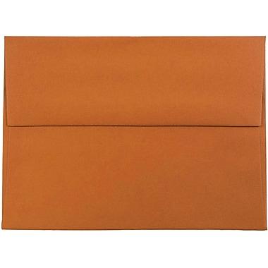 JAM Paper® A6 Invitation Envelopes, 4.75 x 6.5, Dark Orange, 1000/carton (157457B)