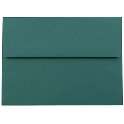 JAM Paper® A6 Invitation Envelopes, 4.75 x 6.5, Teal Blue, 50/pack (157462I)