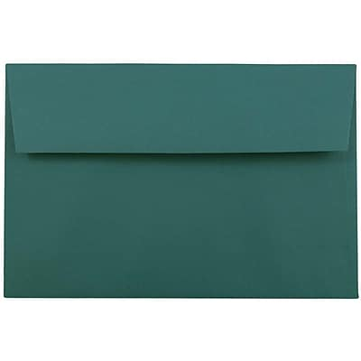JAM Paper® A9 Invitation Envelopes, 5.75 x 8.75, Teal Blue, 1000/carton (0157463B)