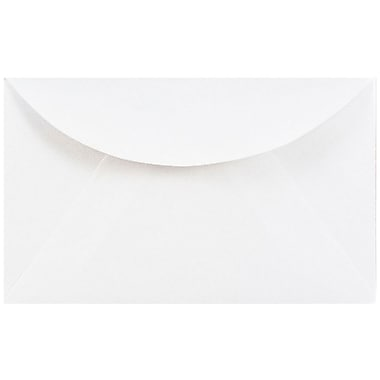 JAM Paper® 3drug Mini Small Envelopes, 2 5/16 x 3 5/8, White, 1000/carton (0201214B)