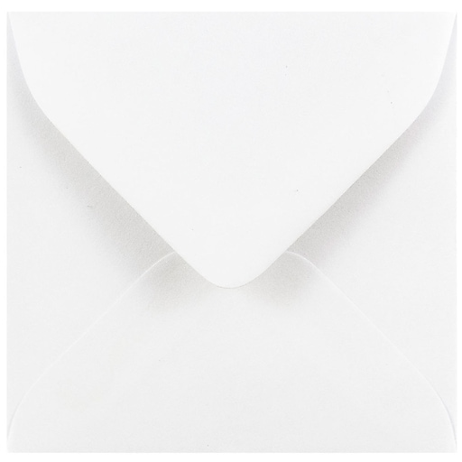 JAM Paper® 3.125 x 3.125 Mini Square Envelopes, White, 50/Pack (3992308I)