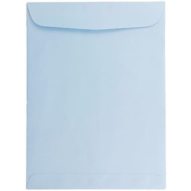 JAM Paper® 6 x 9 Open End Catalog Envelopes, Baby Blue, 100/pack (1285578)
