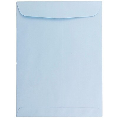 JAM Paper® 6 x 9 Open End Catalog Envelopes, Baby Blue, 100/pack (1285578)