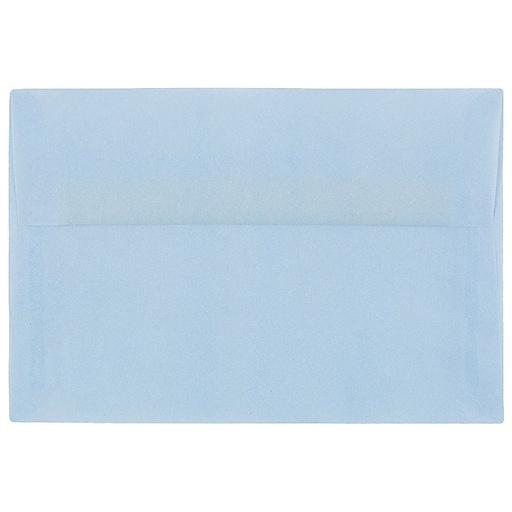 JAM Paper® A10 Translucent Vellum Invitation Envelopes, 6 x 9.5, Surf Blue, Bulk 250/Box (1591792H)